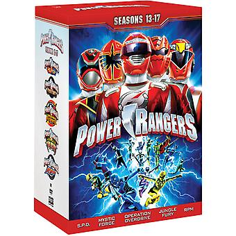 Power Rangers: Saison 13-17 [DVD] USA importieren