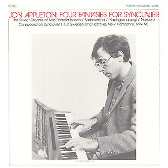 Jon Appleton - quatre fantaisies pour importation USA Synclavier [CD]
