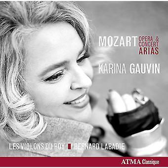 Mozart/Gauvin/Violons Du Rou/Labadie - concerto & Opera Arias [CD] USA import