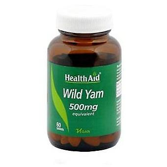 Health Aid Ñame Silvestre 500 mg Wild Yam 60 Comprimidos