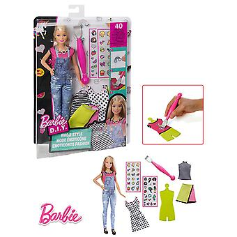 Barbie Barbie Muñeca Emoticonos Fashion Con Accesorios