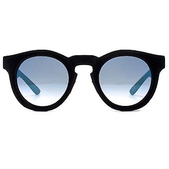 Italia Independent 0922 Velvet Sunglasses In Black Blue