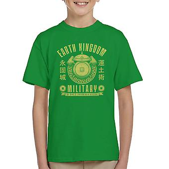 Earth Is Strong Avatar The Last Airbender Kid's T-Shirt
