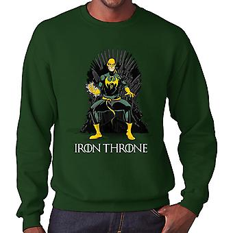 Game Of felpa Thrones Iron Fist uomo con cappuccio