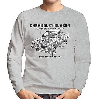 Haynes Besitzer Werkstatt manuell Chevrolet Blazer schwarz Herren Sweatshirt