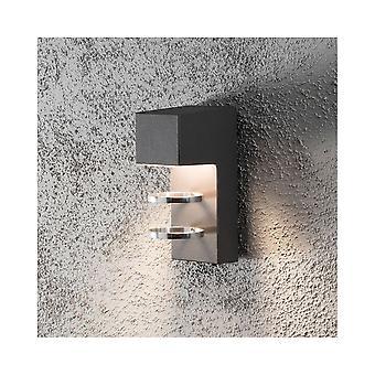 KONSTSMIDE Acerra parete moderna Scandavian portico grigio chiaro