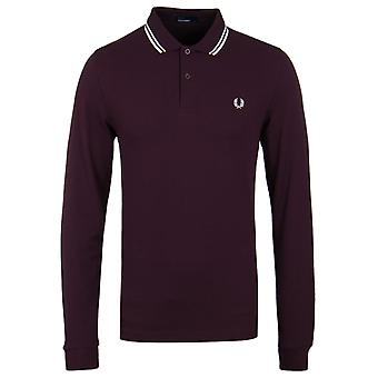 Fred Perry Bramble Twin Tipped Polo manches longues