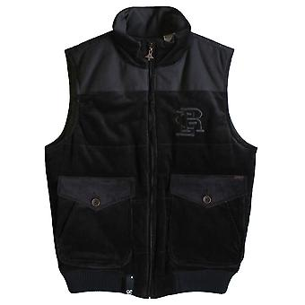 LRG Woolly Mammoth Puffy Vest Black