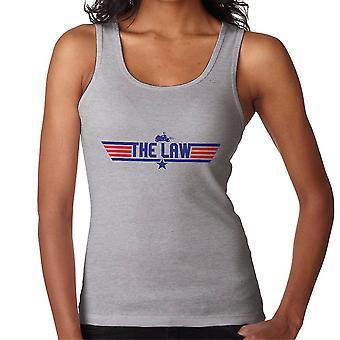 Top Gun Logo Judge Dredd Women's Vest