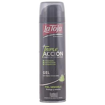 La Toja Triple Action Shave Gel Sensitive Skin 200 ml
