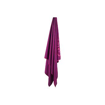 SoftFibre Lite Trek Towel Large - Grey/Purple - Lifeventure