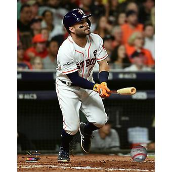 Jose Altuve Home Run Game 7 of the 2017 American League Championship Series Photo Print