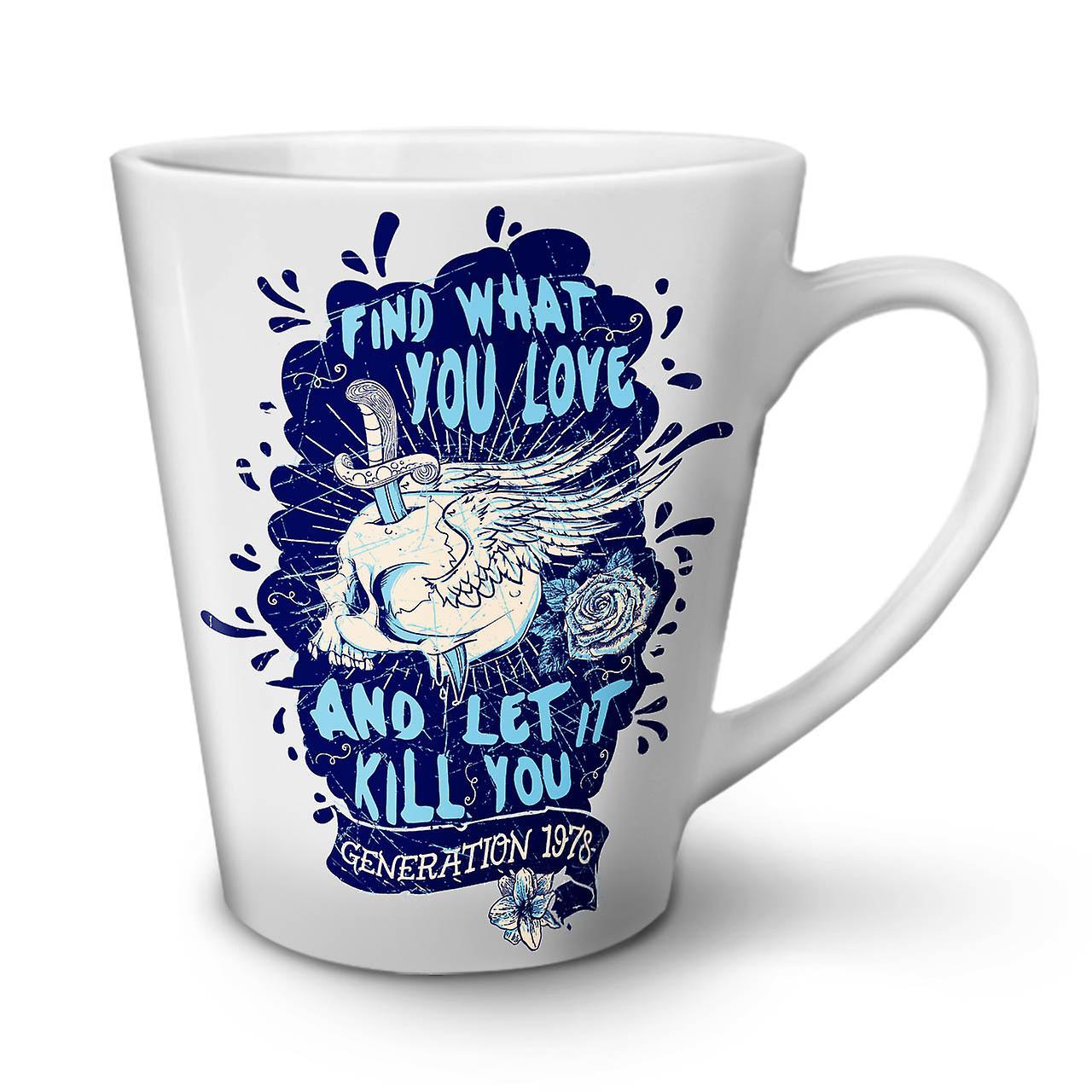Latte Ce Tasse Nouvelle Que Blanche En Céramique Amour 12 Vous Crâne Café Trouver OzWellcoda cA5LRj34q