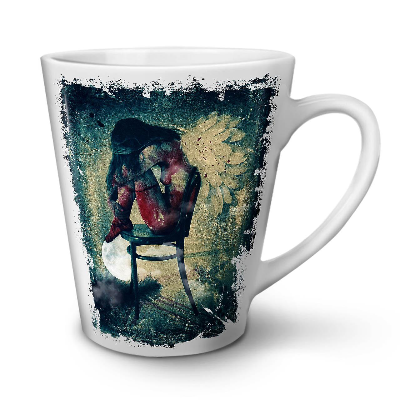 Latte Céramique OzWellcoda En 12 Aile Nouvelle Tasse Café Ange Blanche Femme 3Ljc4q5RA