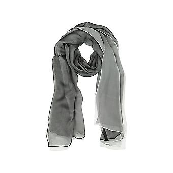 Laura Biagiotti women's B4441N0157 grey silk scarf