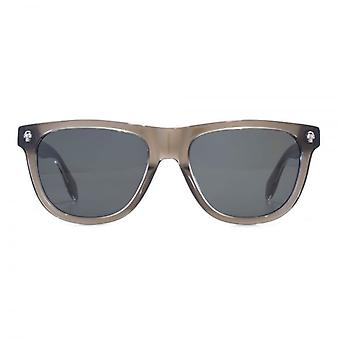 Alexander McQueen Ghost Skull Retro Style Sunglasses In Grey