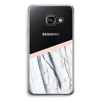 Samsung A3 (2017) Transparent Case - A touch of peach