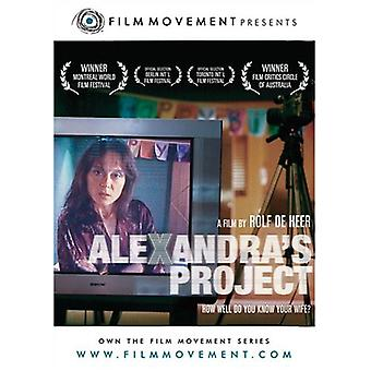 Alexandras Project [DVD] USA import