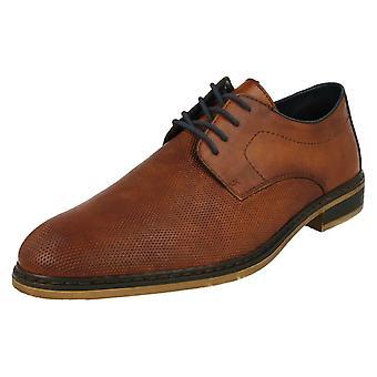 Mens Rieker Brown Lace-Up Shoe 11415