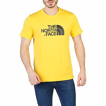 The North Face Men T-shirts Yellow