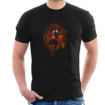 Legend Of Zelda Shadow Of Majora Men's T-Shirt
