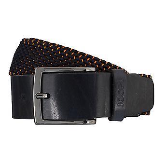 JOOP! Mr belt textile woven belt stretch blue/orange 5937