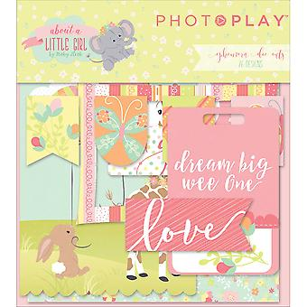 About A Little Girl Ephemera Cardstock Die-Cuts