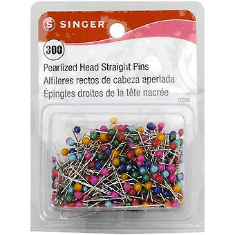 Pearlized Straight Pins-Size 24 300/Pkg