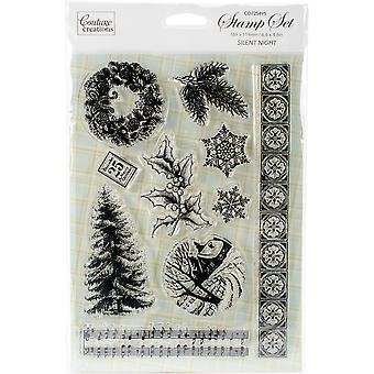 Couture Creations Let Every Day Be Christmas Stamp 5
