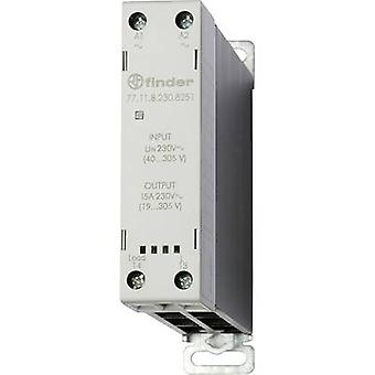 Finder SSR 1 pc(s) 77.11.8.230.8251 Current load (max.): 15 A Switching voltage (max.): 305 V AC Random turn on