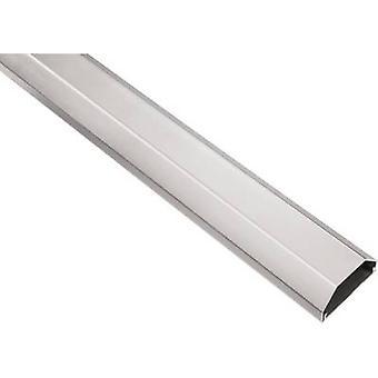 Hama Trunking Aluminium Silver Rigid (L x W x H) 1100 x 50 x 26 mm 1 pc(s) 00020644