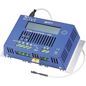 IVT MPPTplus 20A laddningsregulatorn MPPT 12 V, 24 V 20 A