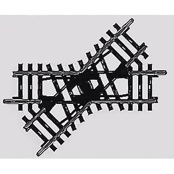 H0 Märklin K (w/o track bed) 2258 Crossing 90 mm 45 °
