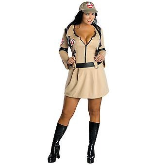 Ghostbuster Ghost Hunter Sexy Licensed Women Costume Plus Size