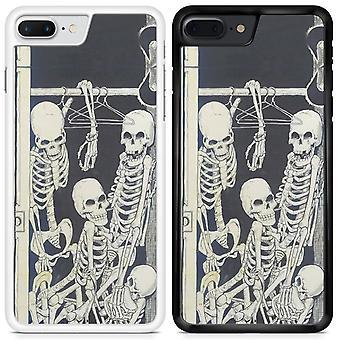 Skulls Custom Designed Printed Phone Case For Apple iPhone 7 plus skull41 / White