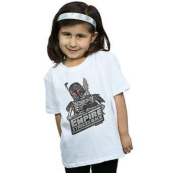 Star Wars Girls Boba Fett Skeleton T-Shirt
