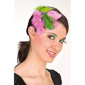 Star lashes pink-green
