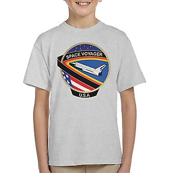 NASA STS 61C Space Shuttle Columbia Mission Patch Kid's T-Shirt
