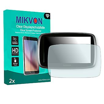 TomTom Go 510 World Screen Protector - Mikvon Clear (Retail Package with accessories)