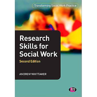 Forskning færdigheder for socialt arbejde (2. reviderede udgave) af Andrew Whitt