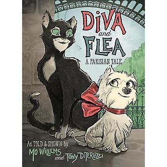 Diva og loppe - en parisisk fortælling af Mo Willems - Tony DiTerlizzi - 9781