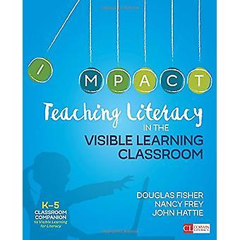 Alfabetización de docentes en el aula de aprendizaje Visible - grados K-5 por D