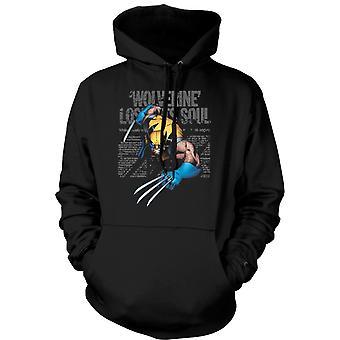 Mens Hoodie - Wolverine - Lost Soul - Comic Hero