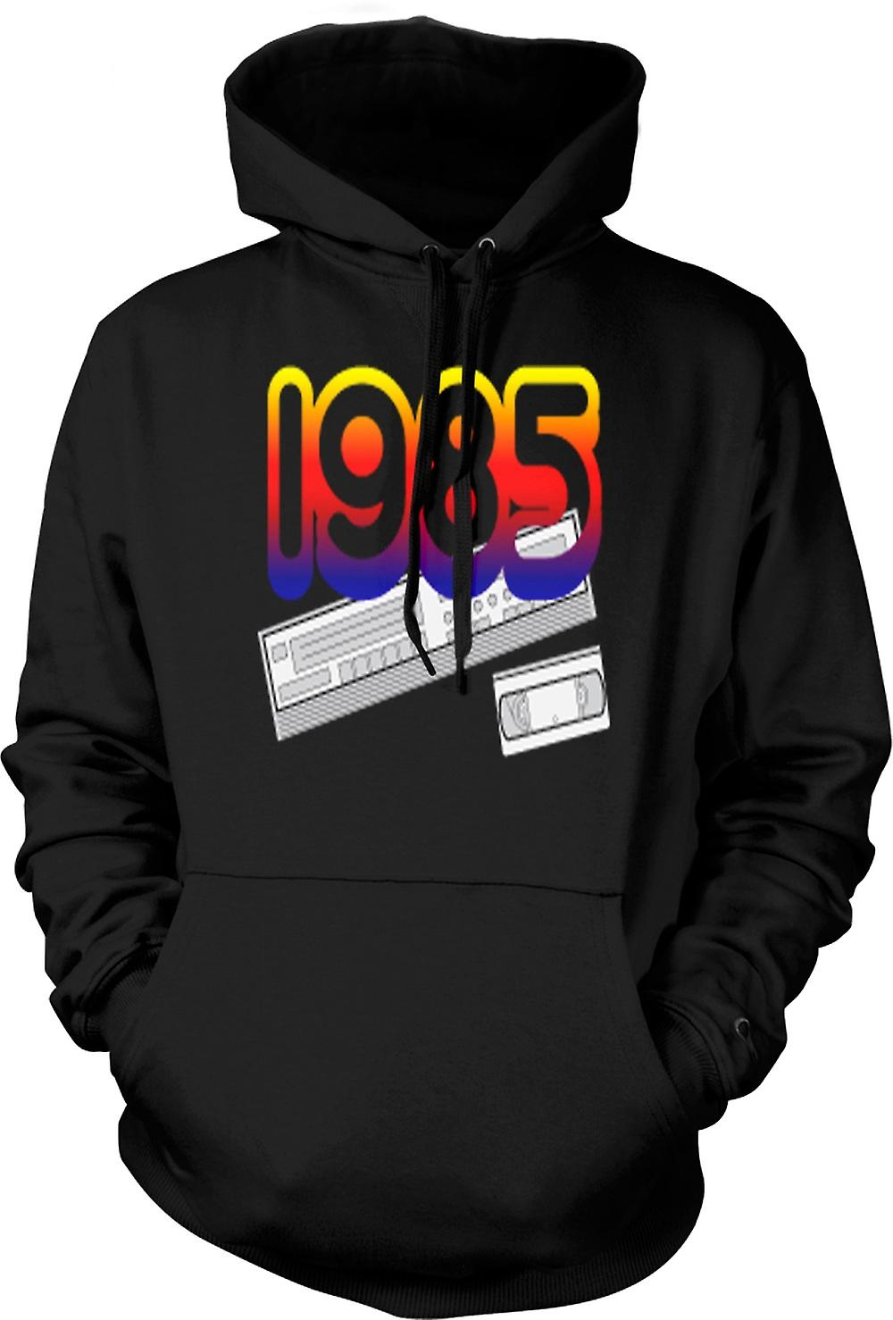 Mens Hoodie - 1985 Video Recorder VCR