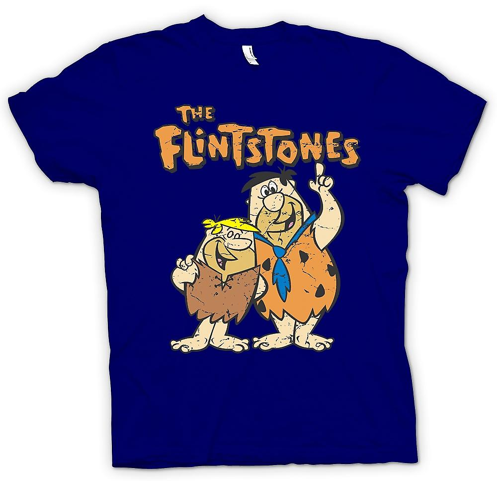 Mens T-Shirts-die Familie Feuerstein - Fred und Barney - coole Cartoon