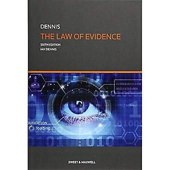 The Law of Evidence (Paperback)