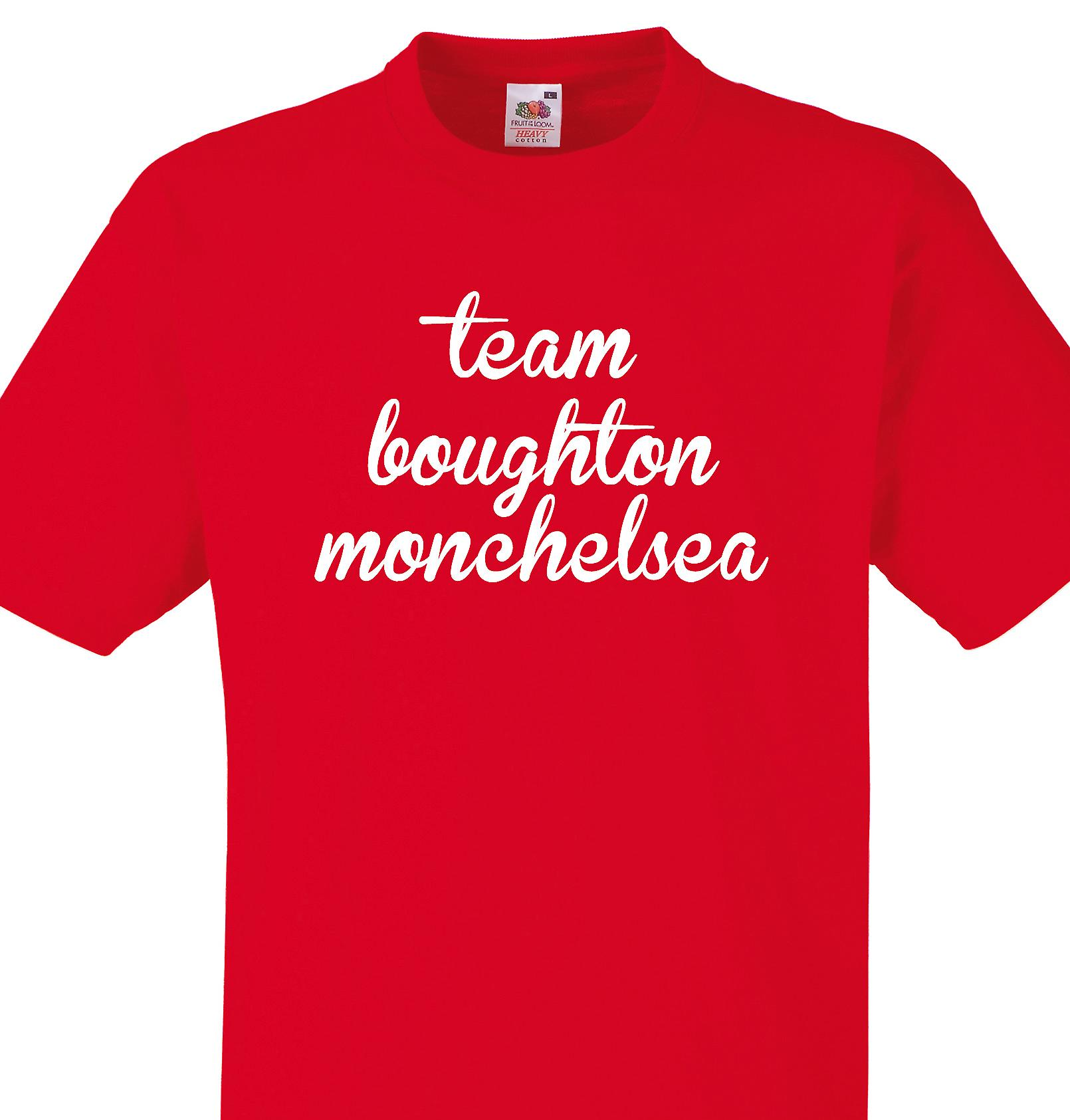 Team Boughton monchelsea Red T shirt