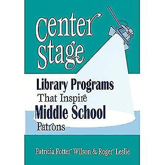 Mittelpunkt: Bibliotheksprogramme, die Mittelschule Gönner inspirieren