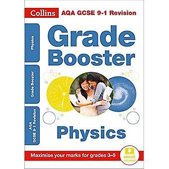 AQA GCSE 9-1 Physics Grade� Booster for grades 3-9 (Collins GCSE 9-1 Revision)� (Collins GCSE 9-1 Revision)