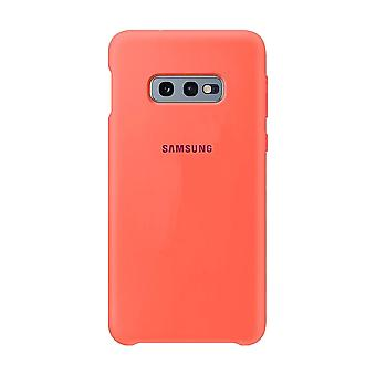 Samsung silicone cover Berry Pink for Samsung Galaxy S10e G970F EF PG970THEGWW bag case protective cover
